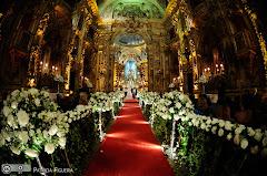 Foto 2657. Marcadores: 11/06/2010, Casamento Camille e Paulo, Igreja, Igreja Nossa Senhora Monte do Carmo, Rio de Janeiro