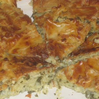 Spinach Pie With Sour Cream Recipes