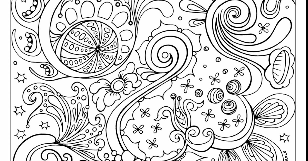 Top 10 Advanced Coloring Pages For Adults Image