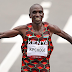 Eliud Kipchoge wins men's Marathon , third man to win gold medals kenya