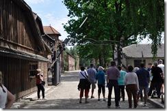 2 entrée du camp d'Auschwitz 1