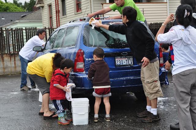 Tibetan Sunday School: Car Wash Fundraiser - DSC_0215.JPG