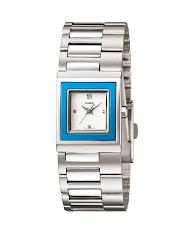 Jam Tangan Pria Warna Silver Hitam Casio Standard : MTP-E116D-1AV