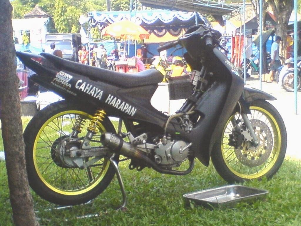 Modifikasi Motor Smash 110 Cc