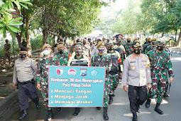 PPKM Jilid ll, Forkopimda Sidoarjo Tegakan Disiplin Prokes di Tengah Kerumunan Kawasan Gading Fajar