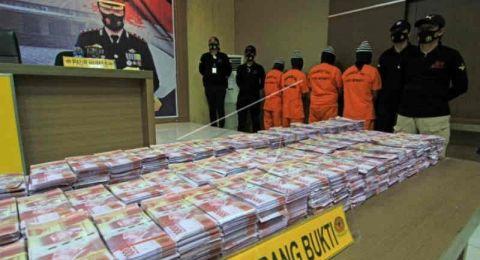 Uang Palsu Rp 11,5 Miliar, Polisi Tangkap Empat Pelaku