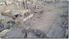 RAMADI.WIDESPREAD DESTRUCTION