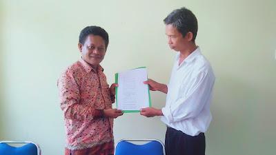 Kades Petahana Heri Ahmad Firdaus Kembali Mencalonkan Diri Menjadi Kepala Desa Siabu Periode 2021-2027