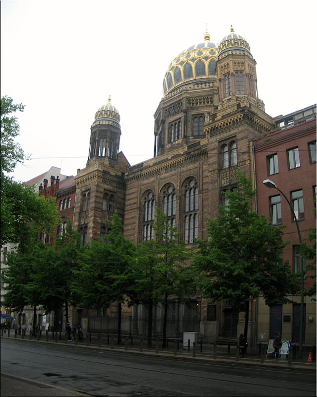 """La Nueva Sinagoga """"Neue Synagoge Centrum Judaicum"""" - Berlín'10"""