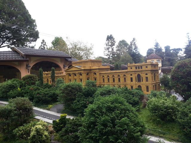 Parte de trás do Museu do Ipiranga - SP