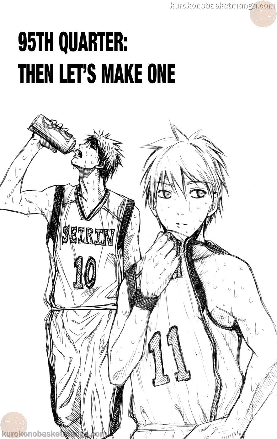 Kuroko no Basket Manga Chapter 95 - Image 01