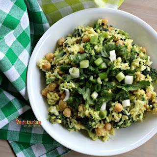 Honey Mustard Broccoli Bowl