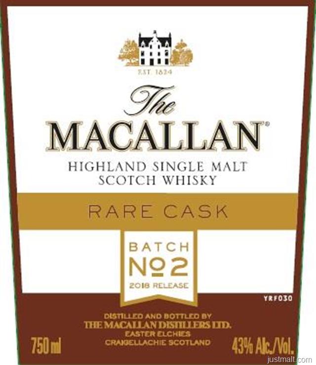 The Macallan Rare Cask Batch No 2