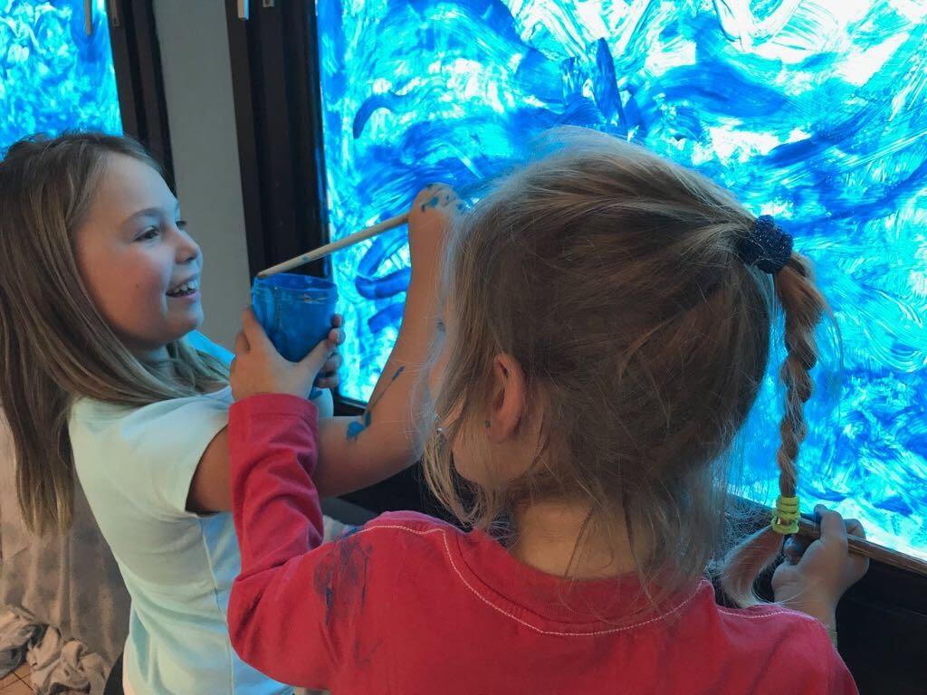 De Knetters maakten een zeeaquarium. - IMG_8786.JPG
