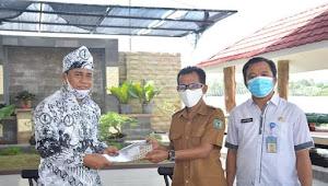 Wali Kota Bima Menerima  Silaturahmi Pengurus PGRI  di Kediaman