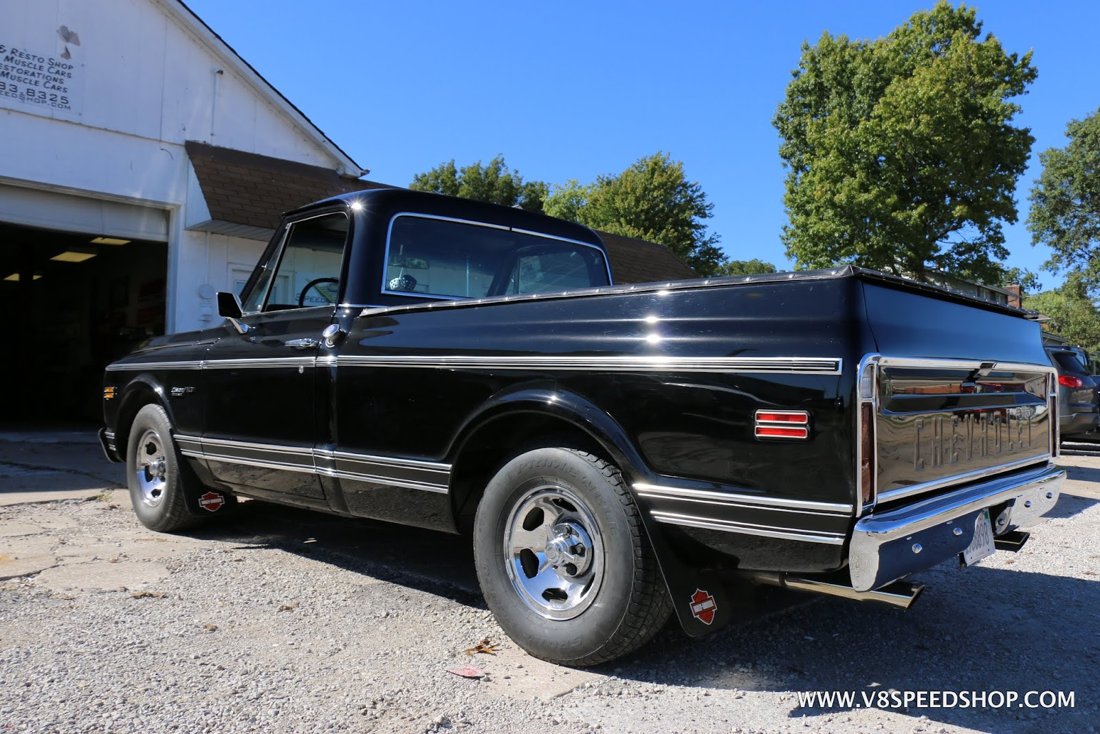Pickup chevy c10 pickup truck : Cool 1971 Chevrolet C10 Pickup Gets New LS Drivetrain At V8 Speed ...