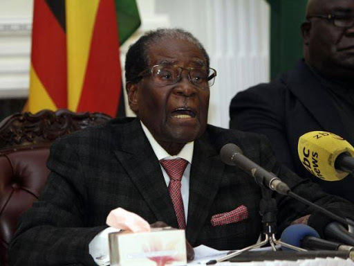 President Robert Mugabe resigns
