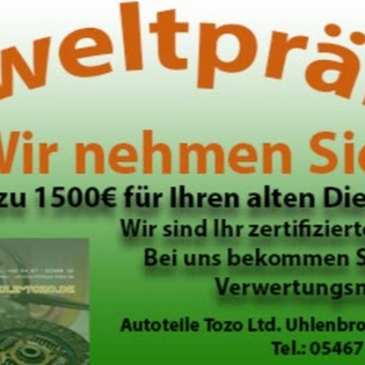 Autoteile Tozo Limited - Autoverwertung Werkstatt in Neuenkirchen