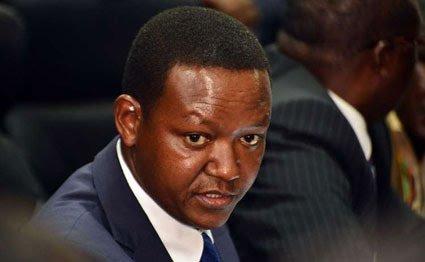 Governor Alfred Mutua.