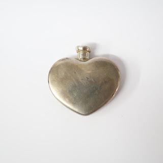 Tiffany & Co. Sterling Silver Heart Perfume Bottle