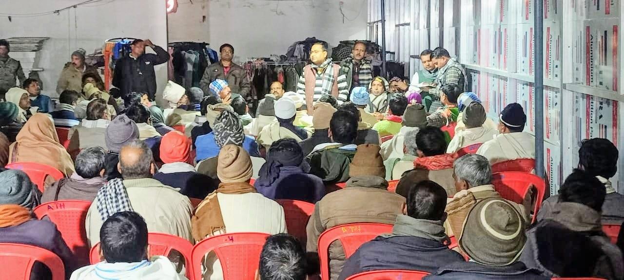 जगदीशपुर में लोजपा ने की संगठन की मजबूती पर चर्चा, कोर कमेटी का गठन, बैठक में शामिल हुए पूर्व मंत्री भगवान सिंह कुशवाहा
