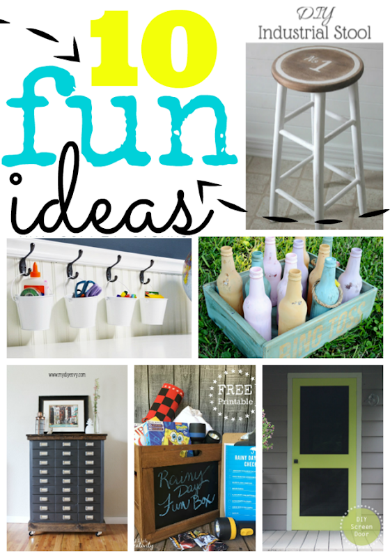 10 Fun Ideas at GingerSnapCrafts.com