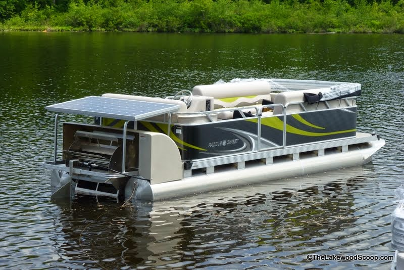The Lakewood Scoop Photos Solar Powered Motor Boats Come To Lake Carasaljo The Heartbeat Of