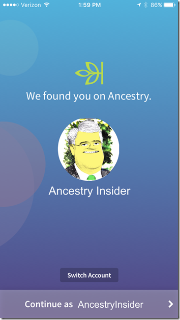 We're Related - Ancestry Login