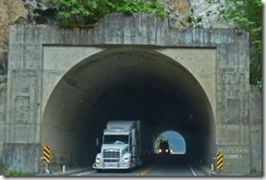 Trans-Canada Highway, Hell's Gate Tunnel, BC