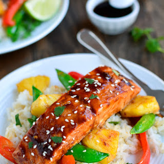 Teriyaki Salmon Stir Fry
