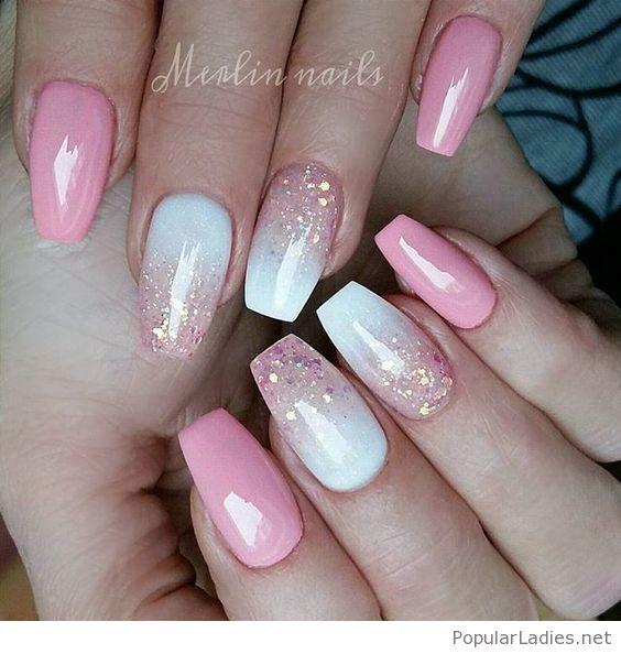 25 Best Pink Gel Nail Art Trendy Nail Ideas Fashonails