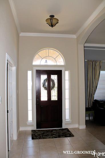 installing front doorInstalling Front Door Glass  WellGroomed Home