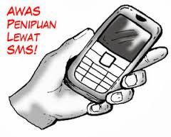 Blokir Penipuan lewat SMS