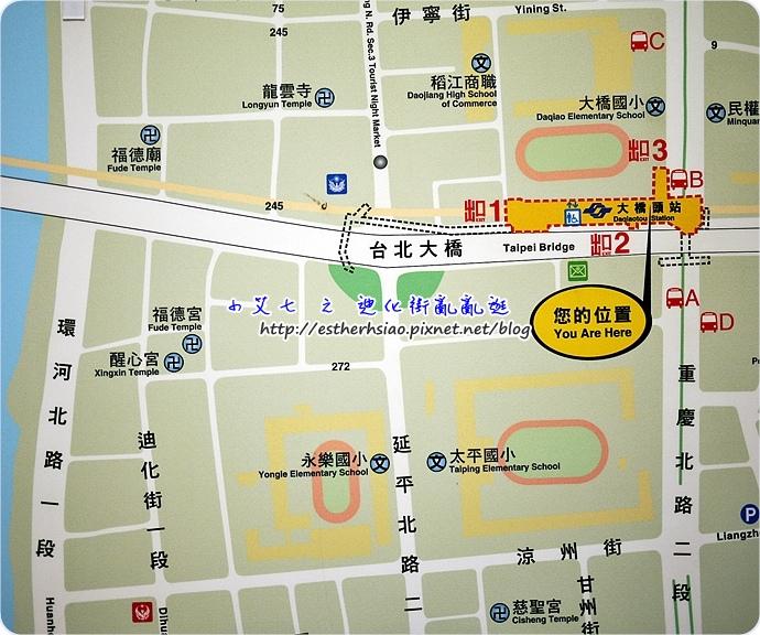 1 捷運地圖