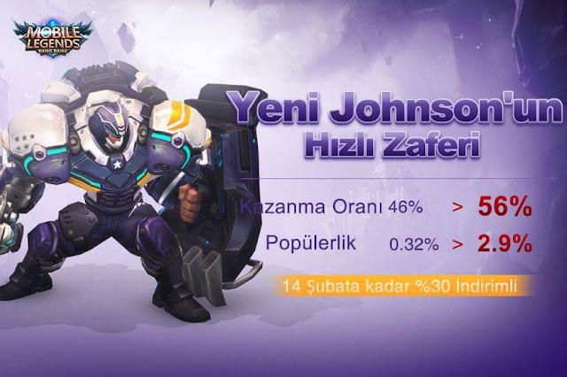 Transformers Johnson Yenilendi - Mobile Legends
