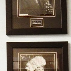 New Gottlieb photos in Jazz Room at downtown WF Public Library