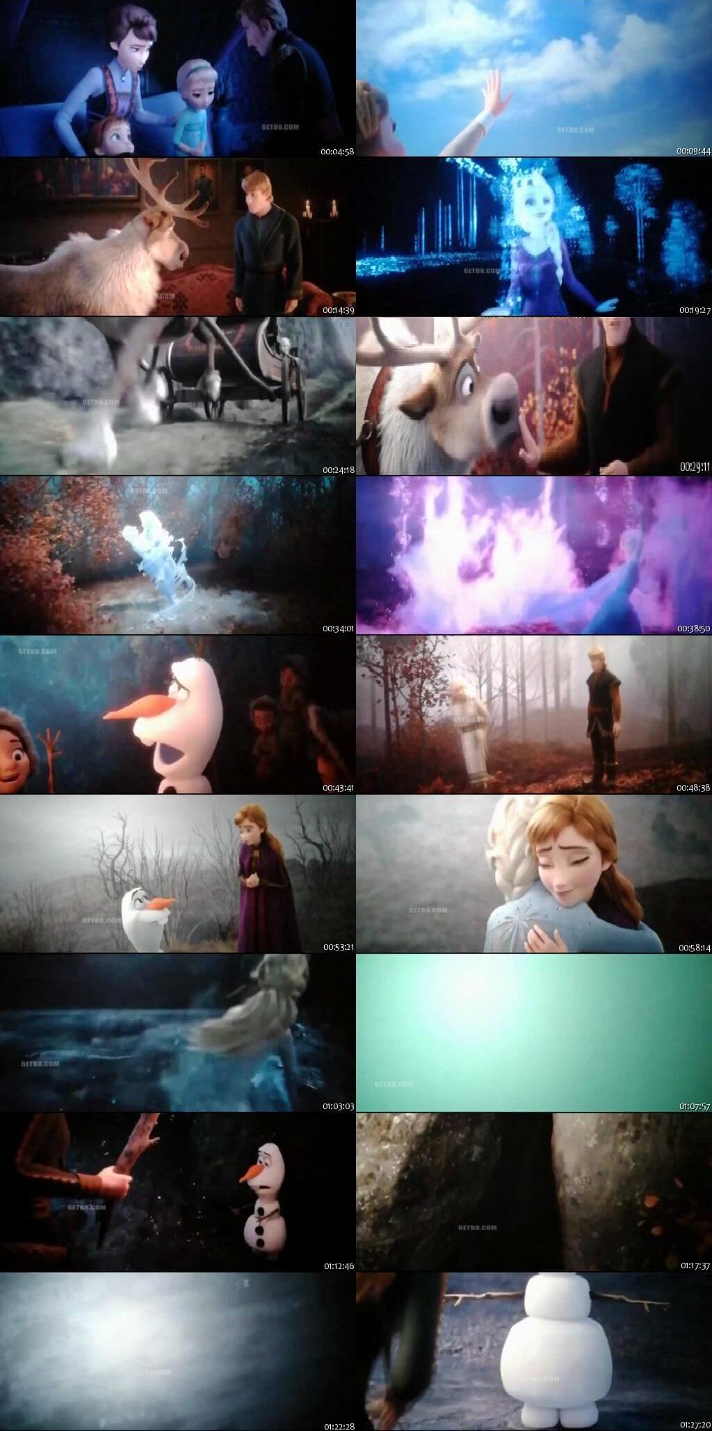 Screen Shot Of Frozen 2 2019 In Hindi English Dual Audio Bluray