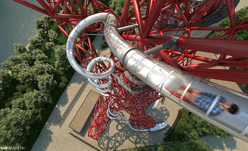 ArcelorMittal Orbit, a Torre Eiffel inglesa