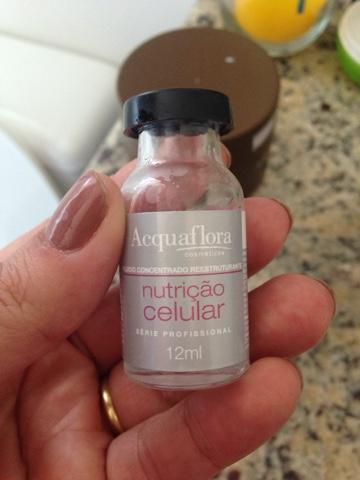 Produto testado e aprovado Aquaflora, Nutrição celular, Cabelos