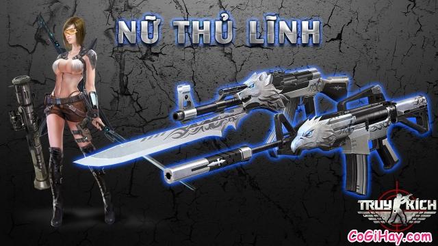 game truy kích có nhiều vũ khí lạ