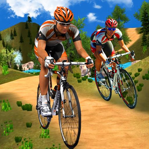 Offroads Bicycle Uphill Stunts