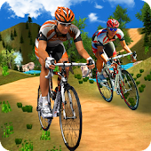 Offroads Bicycle Uphill Stunts