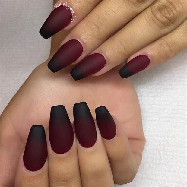 Latest Matte Nail Designs You Will Love 4