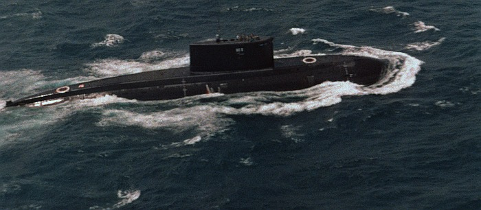 Kilo-Class Submarine - Indian Navy - 02 - TN