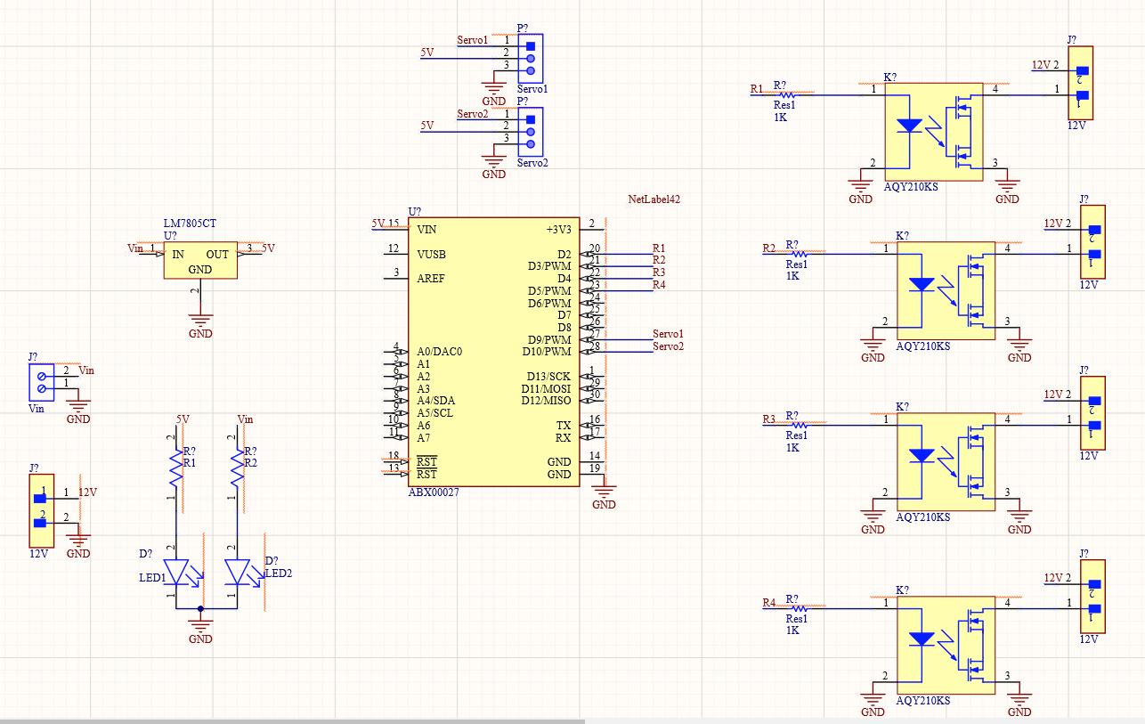 Arduino Rocket Launcher Circuit