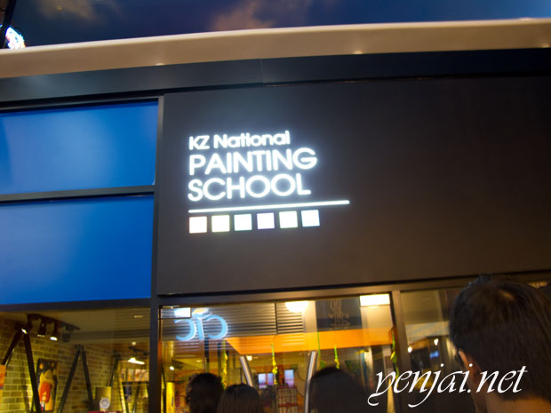 Kidzania painting School