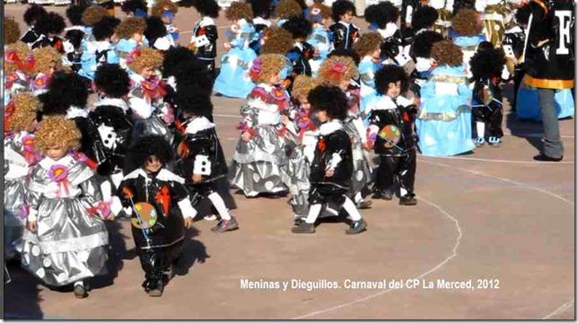 Meninas y Dieguillos. Carnaval del CP La Merced, 2012 4 1
