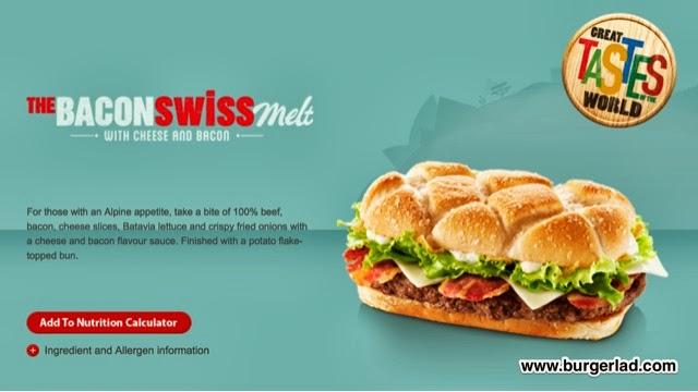 McDonald's Bacon Swiss Melt