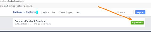 register-applicazione-facebook