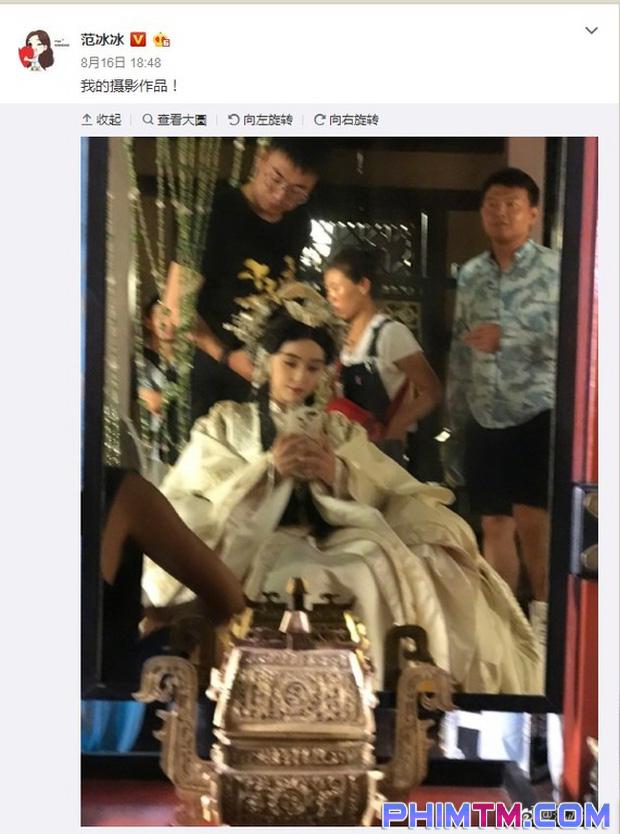 Ba Thanh (Phạm Băng Băng) gây tranh cãi vì nụ hôn với Tần Vương trong Thắng Thiên Hạ - Ảnh 8.